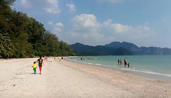 Spaziergang am Noppharat Thara Beach - Krabi Video
