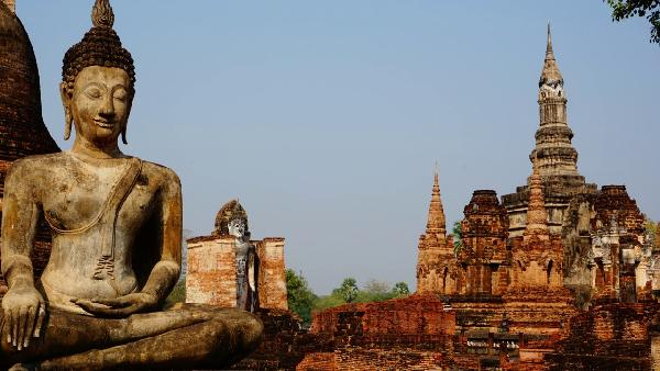 Play Historical Park Sukhothai in Thailand