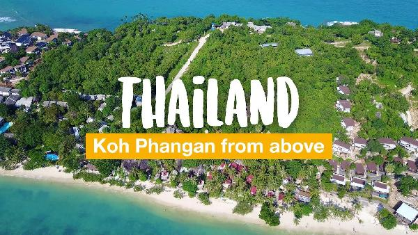 Play Koh Phangan from above