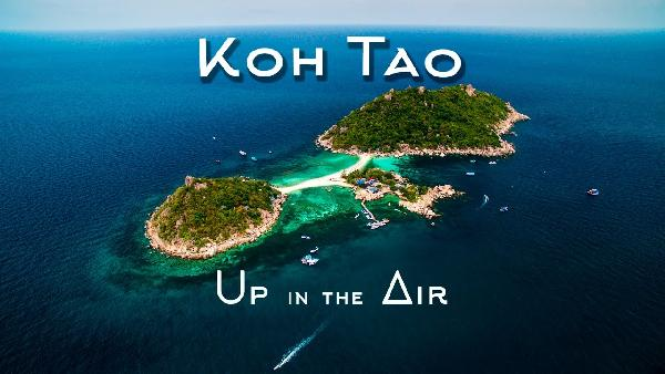 Play Koh Tao - Up in the Air - Aerial Video 4K